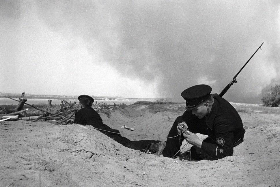 RIAN archive 819 Stalingrad's defense