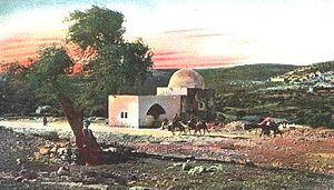 Ohel (grave) - Image: Rachel's Tomb c 1910