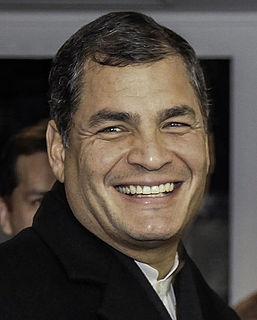 Rafael Correa President of Ecuador