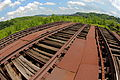 Railroad tracks to nowhere, Carrie Furnaces in Rankin PA (8786570551).jpg