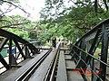 Railway Lines continuing past the Kwai River Bridge - panoramio.jpg