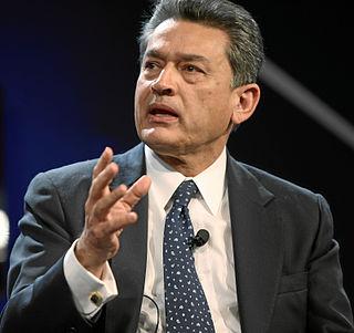 Rajat Gupta Indian-American businessman