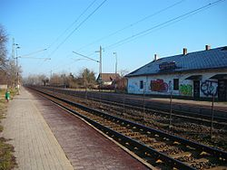 Rakoscsaba-Ujtelep train station.JPG