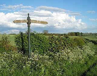 Astwell hamlet in Northamptonshire, England, United Kingdom