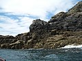 Ramsey Island, basalt rock formation near Porth Lleuog - geograph.org.uk - 913661.jpg