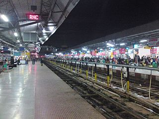 Ranchi Junction railway station Railway junction station in Jharkhand