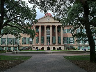 College of Charleston - Randolph Hall is the main academic building on the College of Charleston campus and is on the National Register of Historic Places.