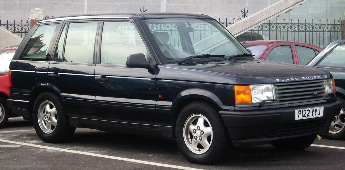 Range Rover A Vendre >> Range Rover P38a Wikipedia
