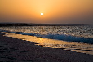 Ras al Hadd - Sunset in Ras al Hadd