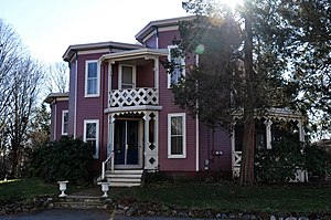 Octagon House (Reading, Massachusetts) - Image: Reading MA Octagon House