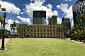Rear of Treasury Building seen from Queens Gardens, Brisbane.jpg