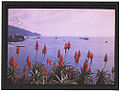 Red Hot Pokers and the Bay of Funchal by Sarah Angelina Acland.jpg
