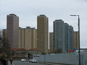 Barmulloch - The Red Road flats