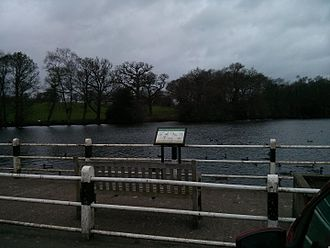 Siddington, Cheshire - Redesmere duck viewing area