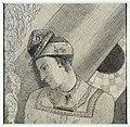 Redon - Buste de femme la tête penchée à gauche, Vers 1871.jpg