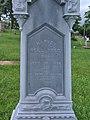 Reed Monument, Oak Spring Cemetery, 2015-06-27, 05.jpg