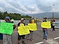 Refugiados venezolanos pidiendo ayuda ante la crisis en Cúcuta.jpg