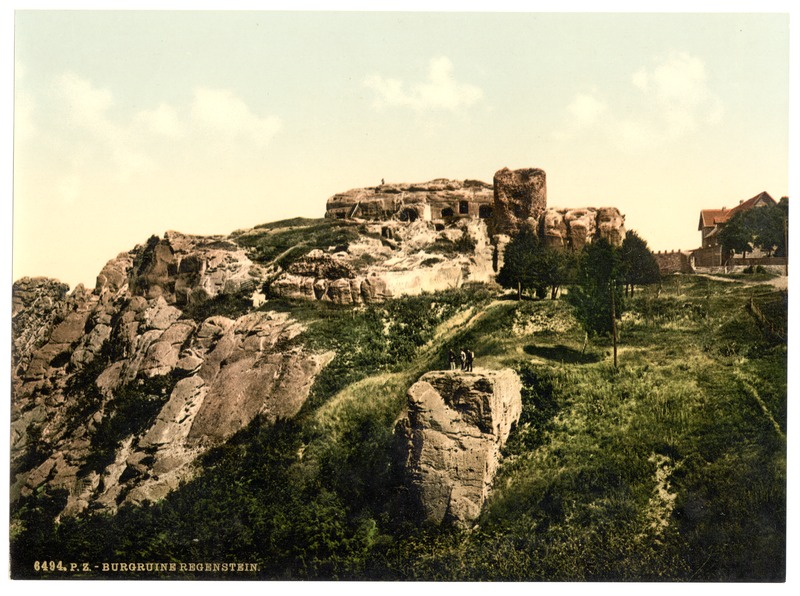 File:Regenstein Castle near Blankenburg (Ruins), Hartz, Germany-LCCN2002713826.tif