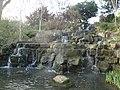 Regent's Park Queen Mary Gardens waterfall.JPG