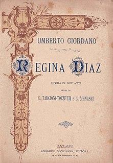 <i>Regina Diaz</i> opera