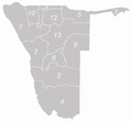 Regionen in Namibia nummeriert.png