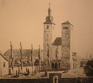 Andreas Armsdorff - Reglerkirche Erfurt before 1900