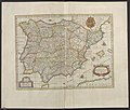 Regnorvm Hispaniæ nova descriptio - Atlas Maior, vol 10, map 1 - Joan Blaeu, 1667 - BL 114.h(star).10.(1).jpg