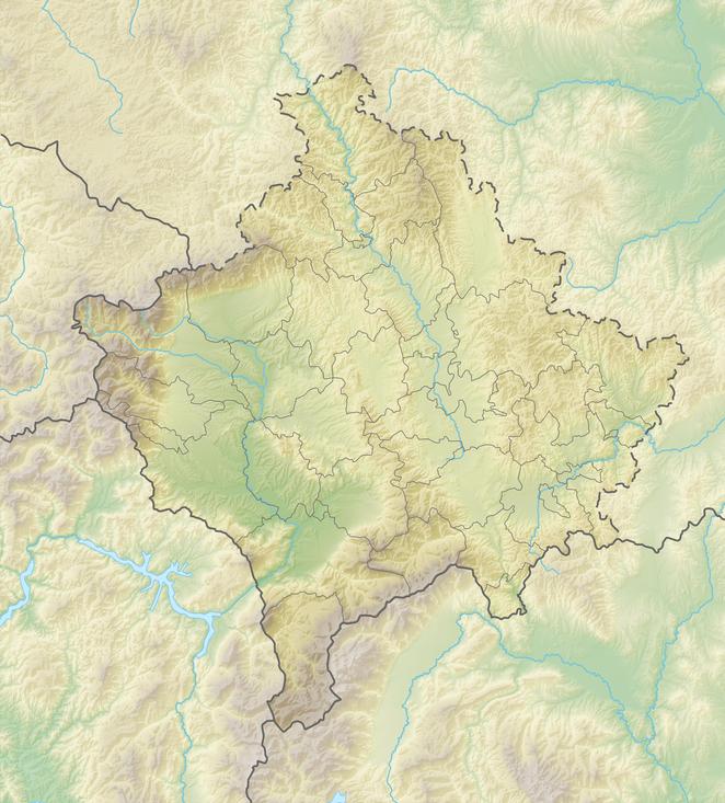 Peja Kosovo Karte.Kosovo Wikiwand