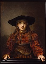 Rembrandt Girl in a Picture Frame.jpg