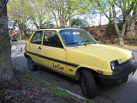Renault 5 wikiwand le car version marketed by amc sciox Image collections