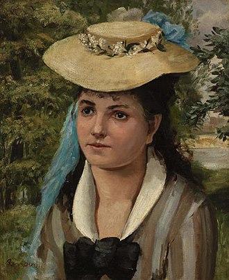 Lise Tréhot - Image: Renoir Lise in a Straw Hat