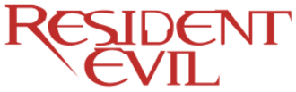 Resident Evil - The live-action film version of the logo