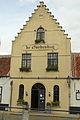 Restaurant De Goedendag, beeldbepalend hoekhuis met de Walram Romboudtstraat 2, Lissewege (Brugge).JPG