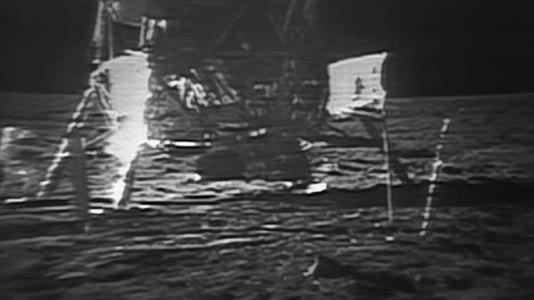 File:Restored Apollo 11 Moonwalk - Original NASA EVA Mission Video - Walking on the Moon.webm