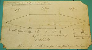 Resurgam - Sketch of the design of Resurgam II by George Garrett