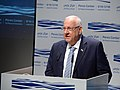 Reuven Rivlin at an event commemorating the late President Shimon Peres, held at the Peres Center for Peace and Innovation, September 2017 (0435).jpg