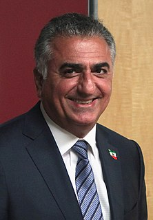 Reza Pahlavi, Crown Prince of Iran Last crown prince of the former Imperial State of Iran