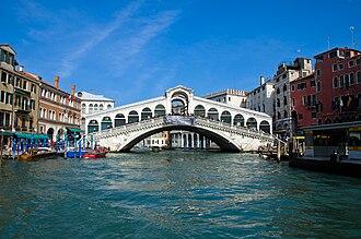 1590s in architecture - Rialto Bridge