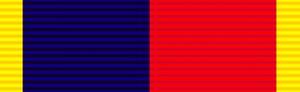 Territorial Efficiency Medal - Image: Ribbon Volunteer Long Service Medal HAC