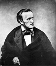 Wagner in Paris, 1861 (Source: Wikimedia)