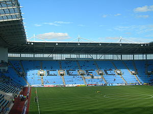 Coventry City F.C. - Ricoh Arena, Coventry's stadium between 2005 and 2013, and since 2014