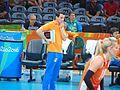 Rio 2016 - Women's volleyball 14 August (29377211411).jpg