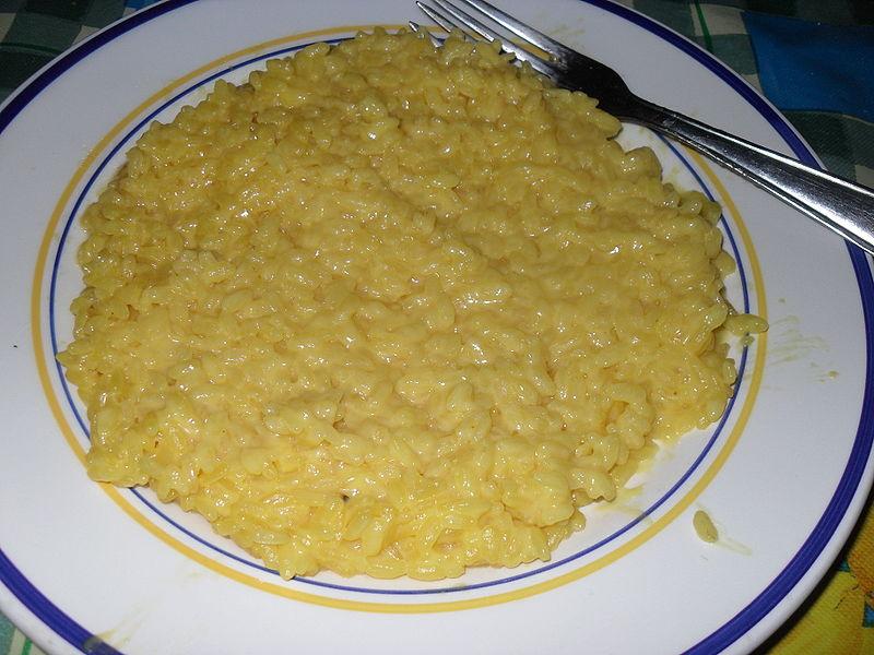 File:Risotto alla Milanese.JPG - Wikipedia, the free encyclopedia