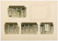 Ritning porslinsrummet i Hallwylska palatset - Hallwylska museet - 101125.tif