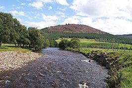 River dee near braemar aberdeenshire