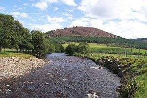 River Dee, Aberdeenshire - The River Clunie  near Braemar