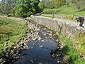 River Dee next to Bridge End Cottage near Stone Houses, Cumbria - geograph.org.uk - 1655251.jpg