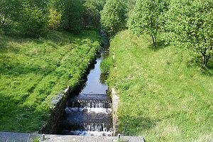 River Spodden - Image: River Spodden Facit