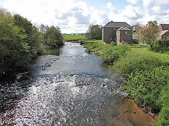 River Till, Northumberland - River Till near Heatherslaw, Etal