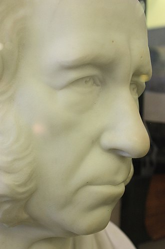 Robert Napier (engineer) - Robert Napier, bust by Edward Wyon 1867